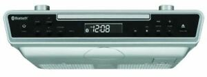 Sylvania-SKCR2713-Under-Counter-CD-Player-with-Radio-and-Bluetooth-Silver