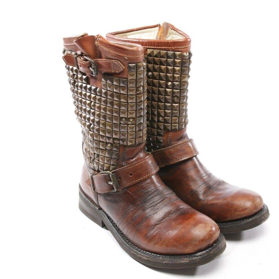 fantastische Qualität Damen Braun 37 D Stiefel ASH Schuhe