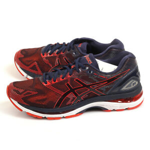 online store 598b0 3bd16 Details about Asics GEL-Nimbus 19 Peacoat/Red Clay/Peacoat Sports Running  Shoes T700N-5806