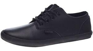 Womens-Kustom-Romy-Black-Leather-Lace-Up-Shoes-Size-7-11-NIB-RRP-79-95