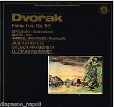 Dvorak: Piano Trio Op. 65 / Heifetz, Piatigorsky, Pennario - LP