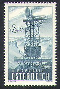 Austria 1959 Radio/Tower/Communications/Microwave/Telecomms 1v (n38519)