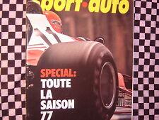 revue SPORT AUTO 1977 / BILAN F1 77 / TOUR DE CORSE / SPORT PROTOS / n° 191
