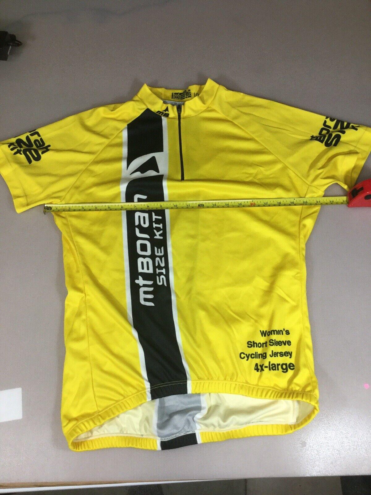6910-26 Borah Teamwear Mens Cycling Jersey 4XL XXXXL