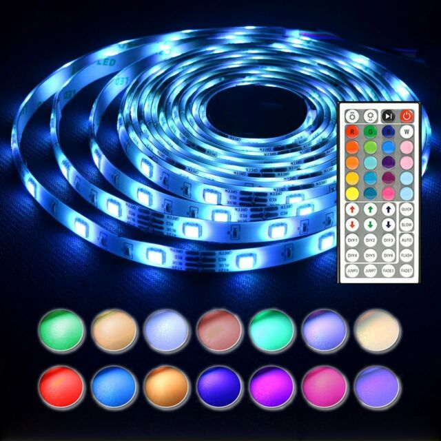 Len led strip lights 164 ft 5m waterproof 150leds 5050 rgb light len led strip lights 164 ft 5m waterproof 150leds 5050 rgb light strip complete aloadofball Gallery