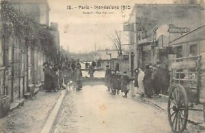 Paris-Flood-1910-Auteuil-Street-Van-Loo
