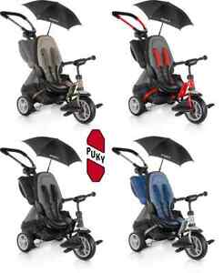 e349eb3f175 Tricycle Stroller Puky Cat S6 Ceety Child 1 an 1/2 Trailing Safety 3 ...