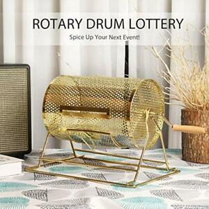 Long stay special Brass Plated Raffle Drum Lottery