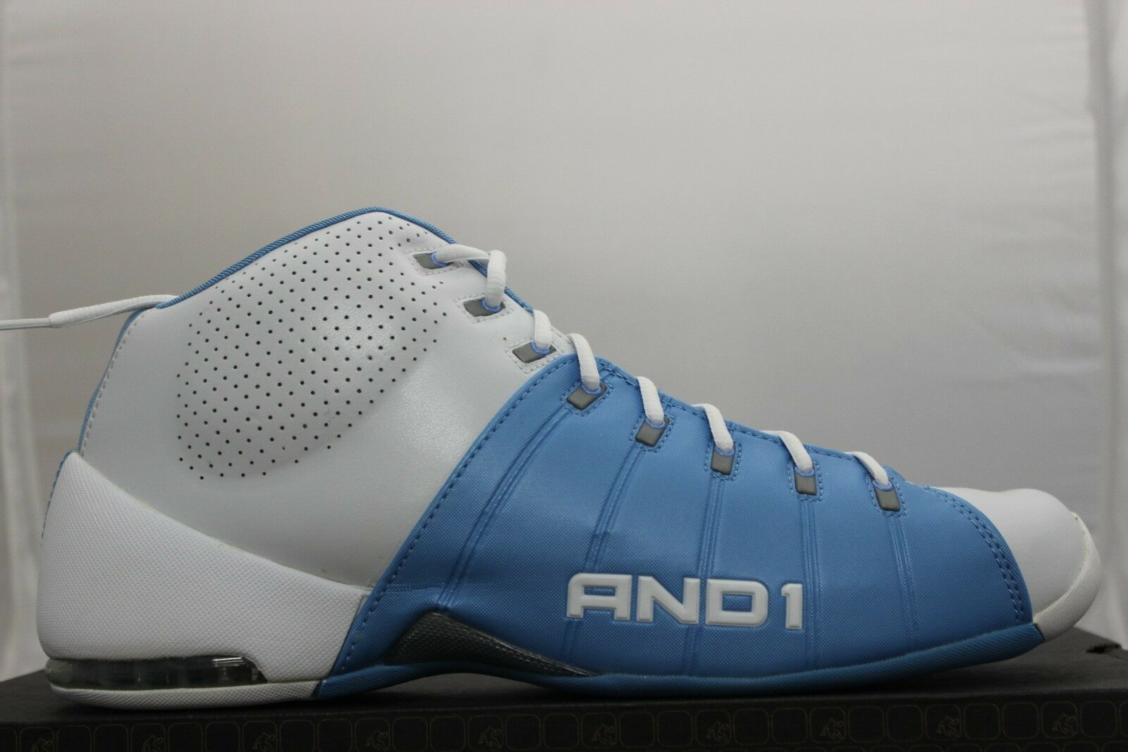 And1 Basketball Unmistakable Mid Brand D808MWL White Carolina Brand Mid New d9ac02