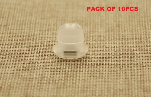 10PCS BMW DASH BOARD TRIM INSERTS CLIPS GROMMETS CLEAR INTERIOR OVAL SHAPE