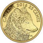 2016 Canada 25 cent 0.5 g Fine Gold Coin - Predator vs Prey: Arctic Fox