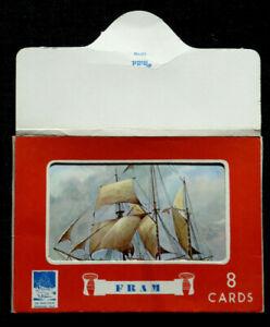 Oslo-Fram-Museum-7-aeltere-Farb-AK-des-Polarforschungsschiffs-Einlegehuelle