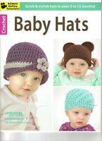 Baby Hats Crochet Book Brand 10 Hats To Crochet