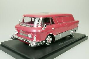 GMC-L-039-UNIVERSELLE-DREAM-VAN-TRANSPORTER-USA-1955-LILA-1-43-AUTOCULT-08011-1-333