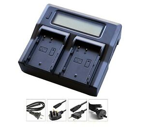 New-LCD-Dual-Battery-Charger-For-DMW-BLF19-BLF19E-BLF19PP-DMC-GH3-GH4-GH5-camera