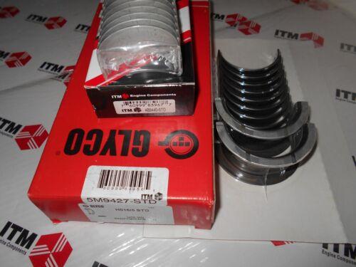 Volvo /& Penta B230 Crankshaft Main /& Rod Bearing Set 1988-1995 AQ131 /& AQ151 171