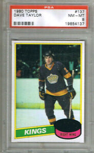1-CARD-DAVE-TAYLOR-1980-81-TOPPS-137-GRADED-PSA-8