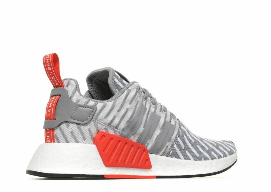 743b4d7072d29 ADIDAS NMD R2 BY2097 GREY LIMITED EDITION SOLDOUT US men Size 9.5 ...