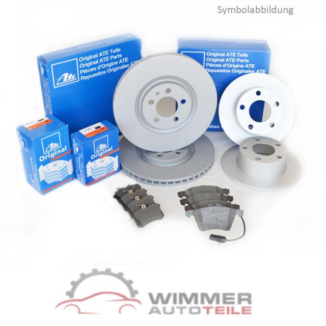 ATE BREMSSCHEIBEN + BREMSBELÄGE mit WK für VORNE + HINTEN VW PASSAT 3B 3BG 96-05