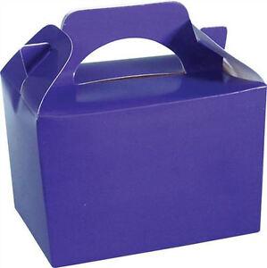 20-Violet-Parti-Boites-Aliments-Loot-Dejeuner-en-Carton-Cadeau-Mariage-Enfants