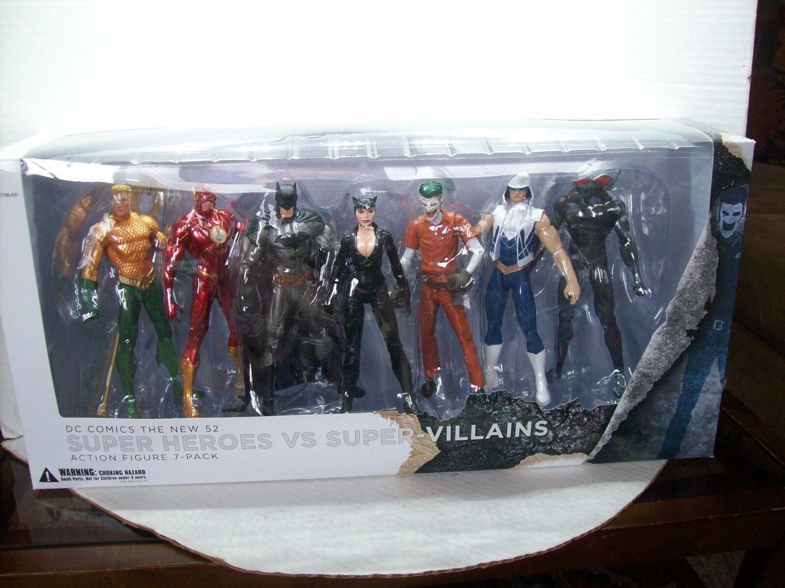 Dc Coleccionables súper Heroes vs Villanos súper-Paquete de 7