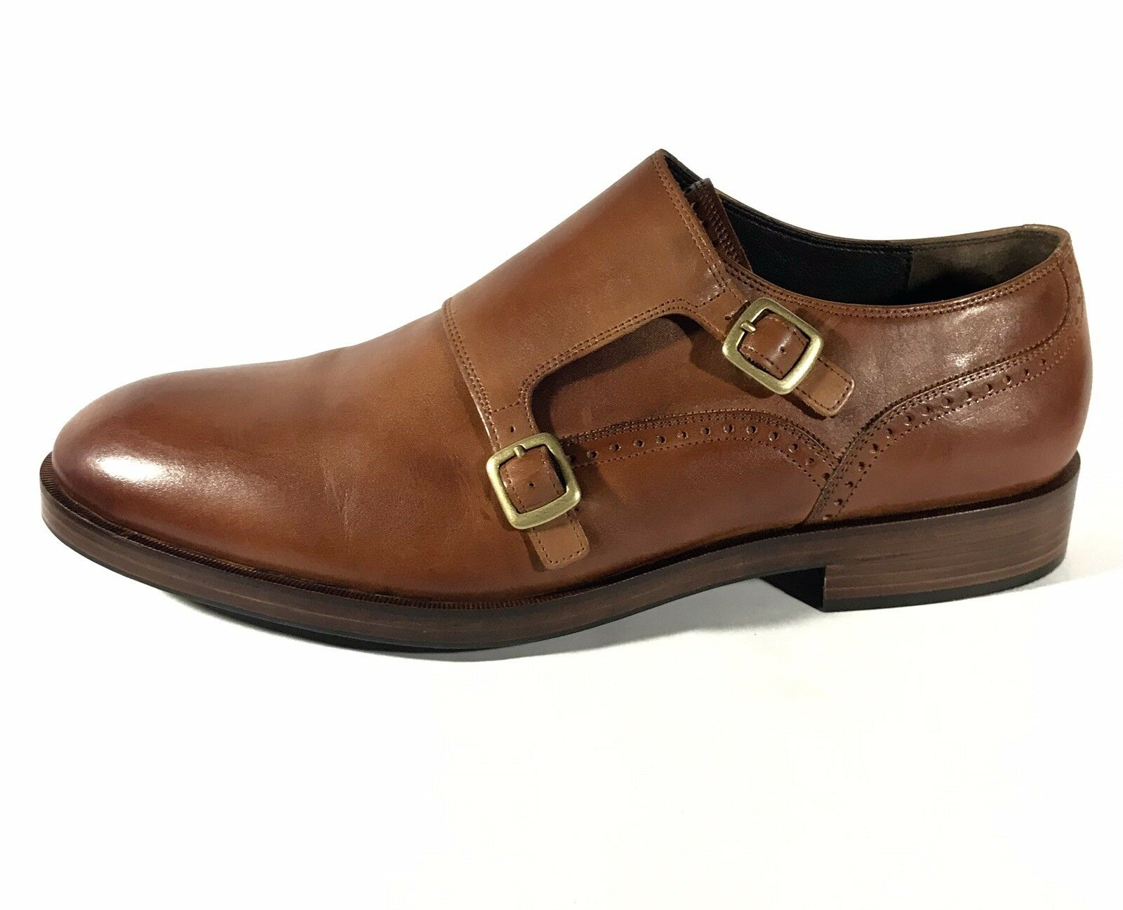NEW COLE HAAN Mens Monk Strap Oxford schuhe Tan Tan Tan Größe 11 US b3c54c