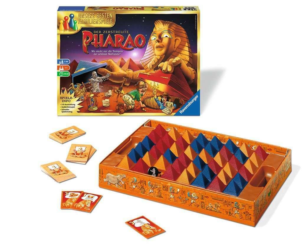 Pharao Board Game Ravensburger Age 8+ Years Brand New Free UK Postage Pharaoh