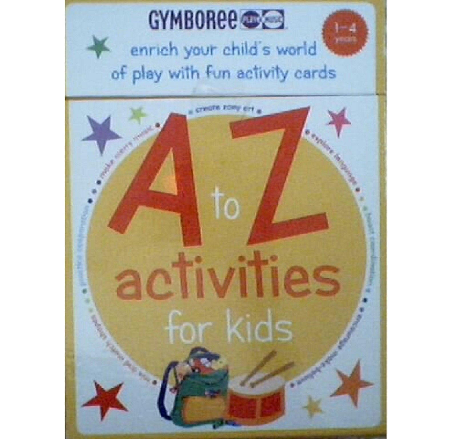 Gymboree Play & Music Maracas Dance Book + Dance + Activities kids Ages 3+ NEW