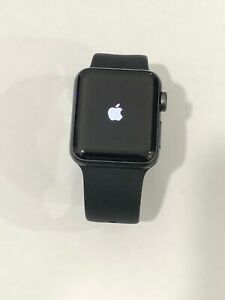 Apple-Smart-Watch-Series-3-38mm-A1858-Space-Gray-8gb-GPS-Please-READ-Icloud-ON