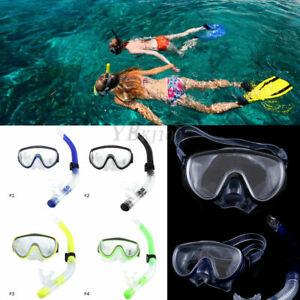 Unisex-Adult-Swimming-Scuba-Dive-Diving-Goggles-PVC-Mask-and-Snorkel-Set-SA