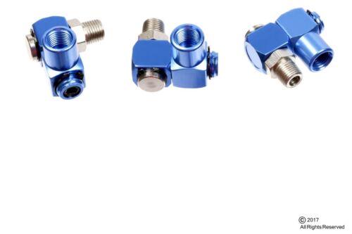 "3 Pack 1//4/"" NPT 360 degree Swivel Air Compressor Tool Swivel Connector Coupler"