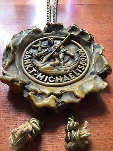 antikes-Wappen-Wachs-Siegel-Sankt-Michaelisdonn