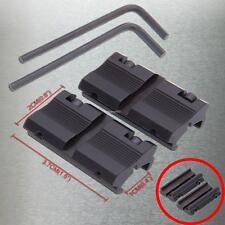 ein Paar 11mm to 21mm Weaver Picatinny Schiene Verlängerung Zielfernrohr Montage