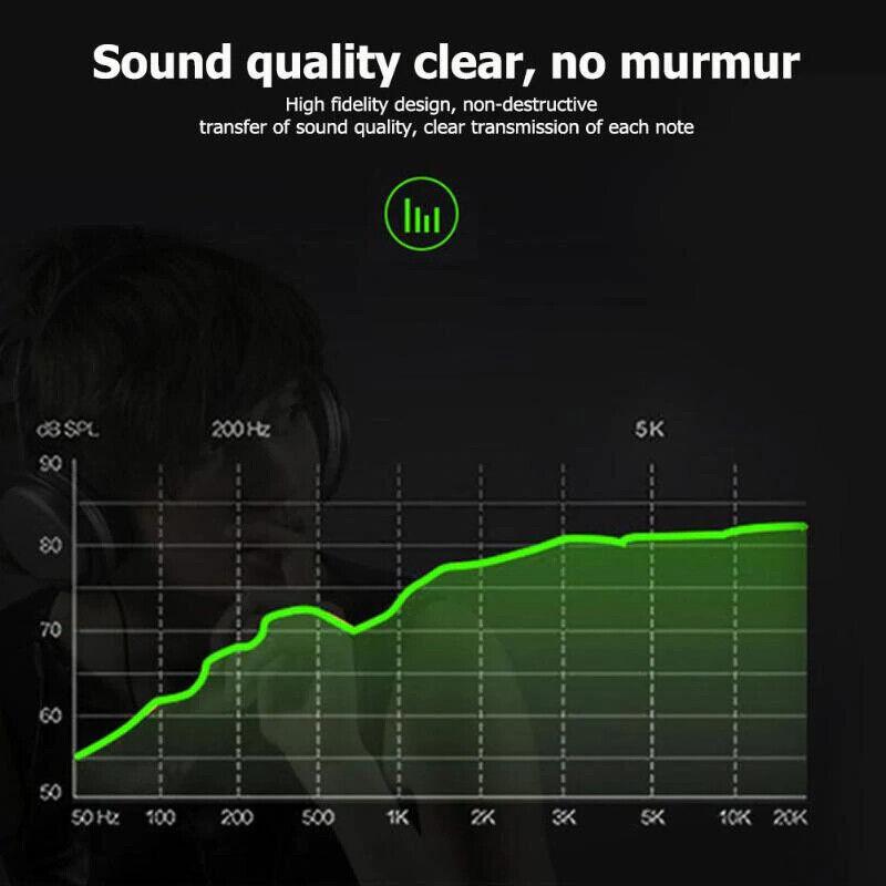 3.5mm Headphone Earphone U & Y Shape to Stereo & Mic Microphone Splitter PC MP3
