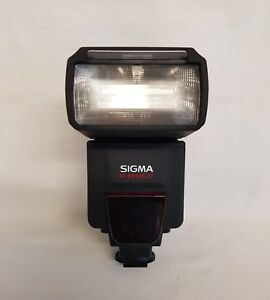 Sigma EF-610 DG ST Flash for Sony//Minolta Cameras