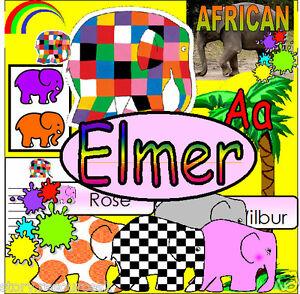 ELMERS-COLOURS-Elmer-the-Elephant-Story-Teaching-resources-KS1-SACK-Resource-CD
