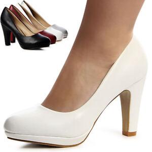 Zapatos-senora-zapatos-de-salon-plataforma-Basics-tacon-alto-boda-elegante-apartado-zapatos-trendy