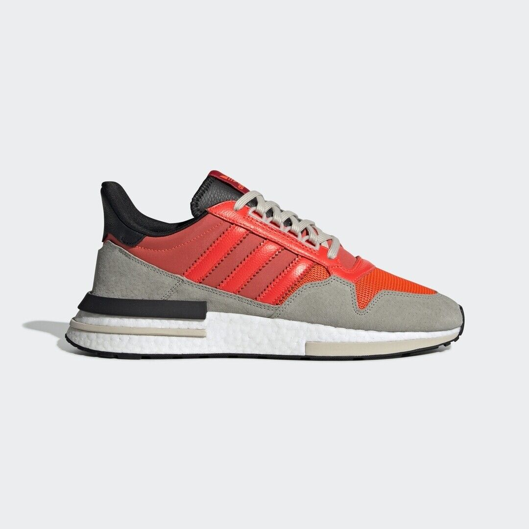 d0bc7ff50 Adidas Originals ZX 500 RM Boost Solar Red Men Lifestyle Sneaker gym New  DB2739