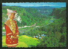 Minangkabau Girl Costume Sianok Valley Sumatra Indonesia stamps