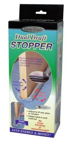 Handy Trends Dual Draft Stopper NIB Gray