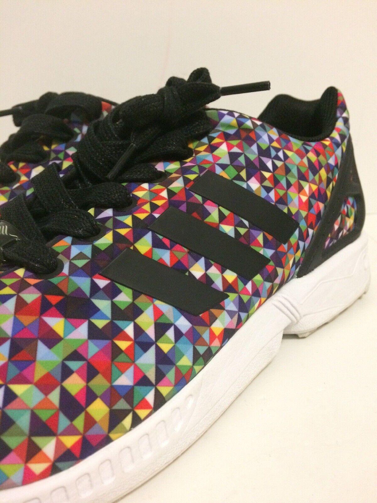 Adidas ZX Flux Multi color Prism Rainbow Boost Multicolor S81604 Xeno VNDS 11.5