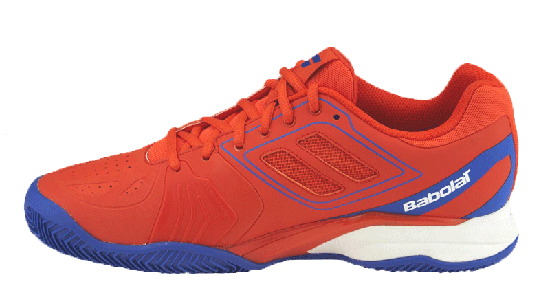 Babolat Propulse Team Clay Hommes-sand court Tennis chaussures-rouge - 30s16446