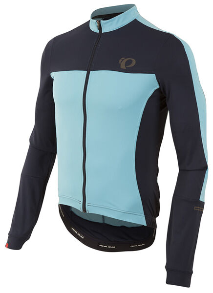 Pearl Izumi 2017 Elite Escape Long Sleeve Bike Jersey Eclipse bluee - Small