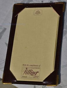 PATEK PHILIPPE porta documenti e foglietti in pelle marrone ORIGINALE NUOVO rUfwtGMF-08034058-999188198