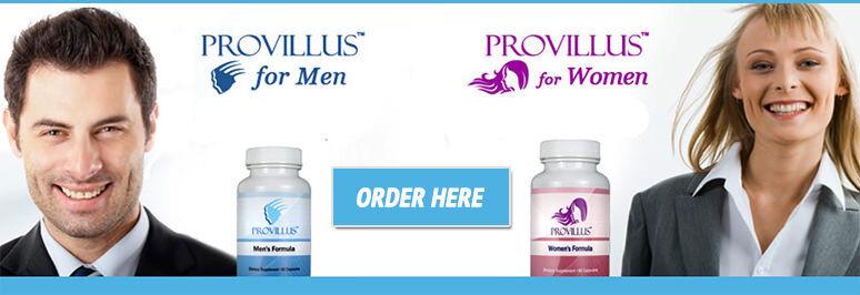 Provillus Hair Loss Vitamins 60 Counts Each Stop Hair Loss