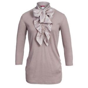 Damen Schluppen Pullover Shirts oder Umstandshirts mit Volants  NEU Gr L//XL