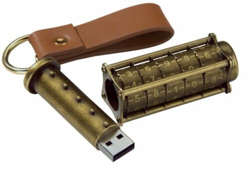1 of 1 - Cryptex 16Gb USB Flash Drive - Ultimate Geek Gadget!  (steampunk style)