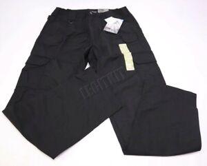 NEW 5.11 Tactical Men/'s TACLITE Pro Pants 36x34 Black 74273 Ripstop