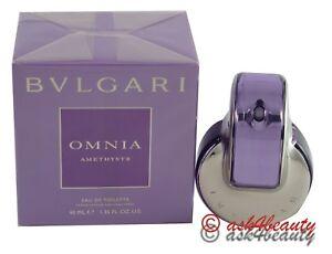 a72bf78aad8 Bvlgari Omnia amethyste 1.35oz 40ml Edt Spray For Women New In Box ...