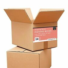 20 X 16 X 14 Large Moving Boxes Pack Of 20 Corrugated Box